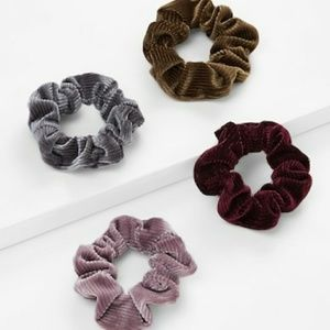 VIVA | Multicolor Hair Scrunchie 4 pieces